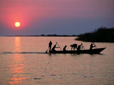 Ψαράδες στη Λίμνη Τανγκανίκα
