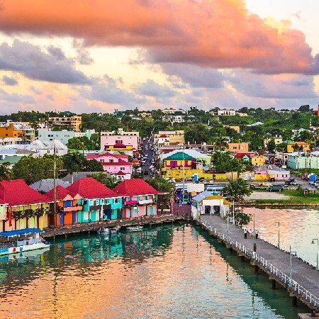 St. John's, Antigua port.