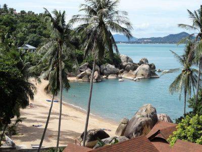 Plai Laem beach in Koh Samui, Thailand