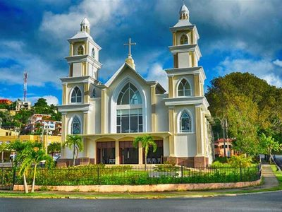 Dominican Republic church