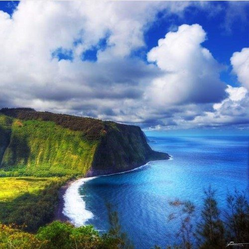 Waipio Valley inHawai