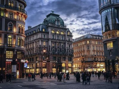 Market of Vienna, Austria