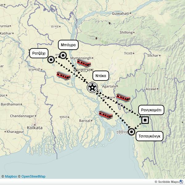 Bangladesh itinerary