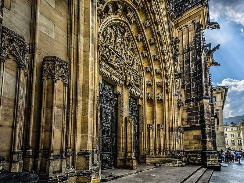 Prague, sample of Gothic architecture
