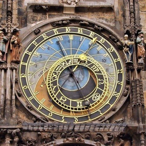 Astronomical clock of Prague, Czech Republic