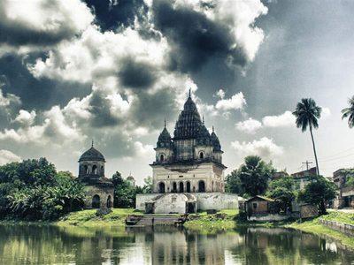 Shiva temple, Rajshahi, Bangladesh