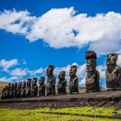 Also known as Rapa Nui is a remote volcanic island that belongs to Chile.