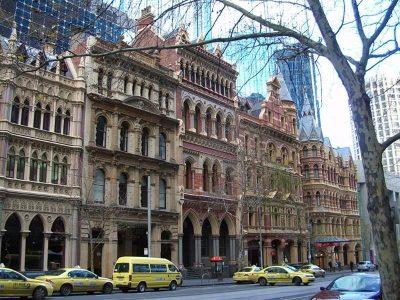 Paris End, Melbourne, Australia.