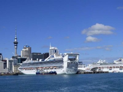Auckland, the ultimate metropolis of South Pacific, New Zealand.