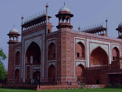 The great gate of India, Taj Majal, Agra