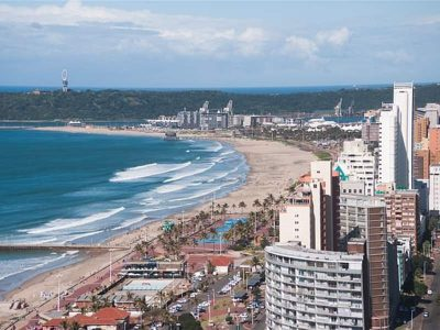 Waterfront of Durban, South Africa