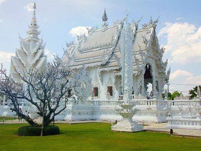 White temple, Thailand, Chiang Rai, Thailand.