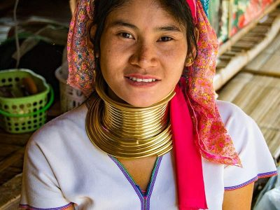 Woman of the Karen tribe, Thailand