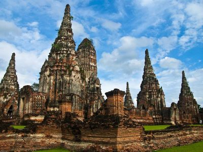 Wat Chaiwatthanaram, Buddhist temple in the city of Ayutthaya, Thailand