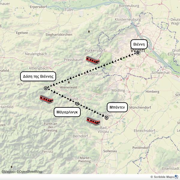 Vienna Mayerling itinerary