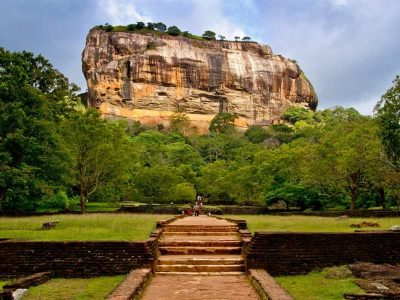 Sigiriya is an ancient rock fortress, Sri Lanka