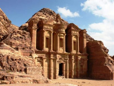 Ancient city of Petra, Jordan.