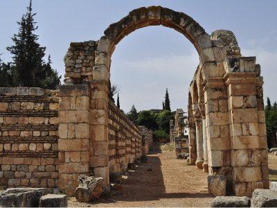 Archaeological site, Lebanon.