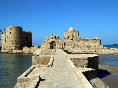 Sidon Sea Castle, Lebanon.