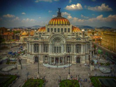 Palace of fine arts, Mexico city, Mexico
