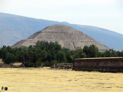 Teotihuacan, archaeological complex northeast of Mexico City, Mexico.