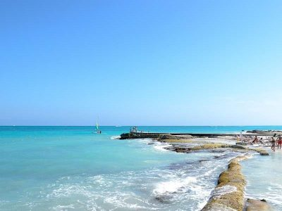 Cancun, city near the sea, southeast Mexico.