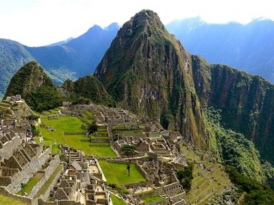 Machu Picchu ancient city, south of Peru