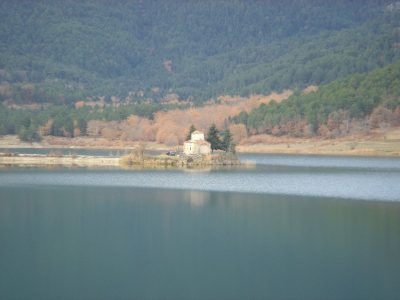 Lake Doxa (Photo Georgios Pazios-commons wikimedia)