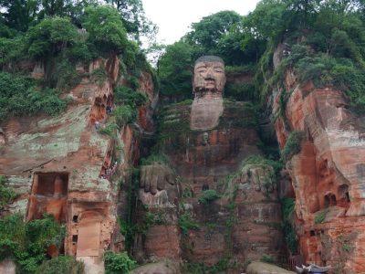 China-Chengdu-Giant Buddha