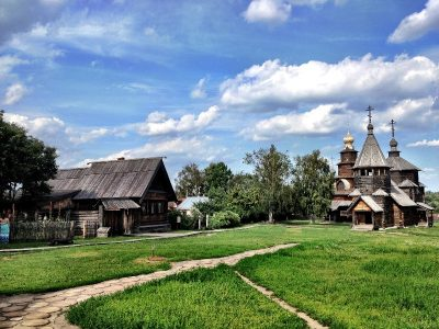 Suzdal-Churches from wood