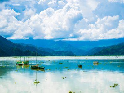 Nepal-Pokhara-Lake Fewa