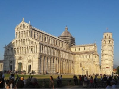 Italy-Lucca-Cathedral & Piza