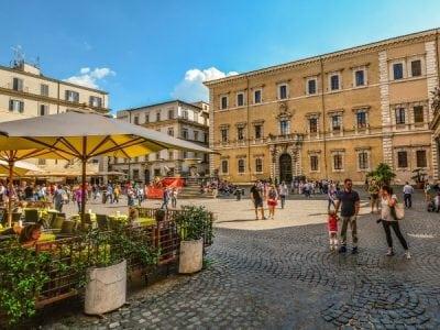 Italy-Rome-Trastevere