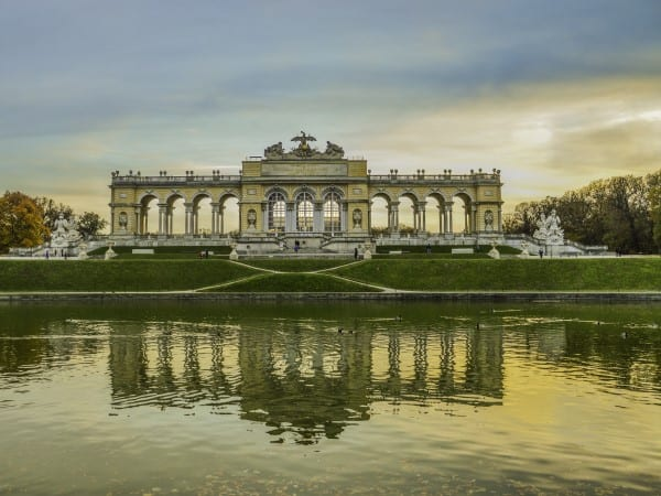 Austria-Vienna-Schönbrunn palace