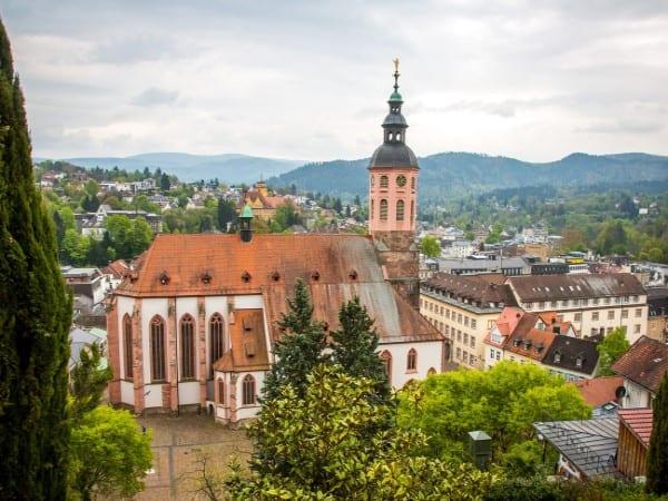 Baden-baden-Church