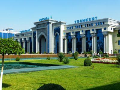 Uzbekistan-Tashkent-Railway Station