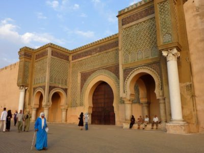 Morocco-El Mansour Gate