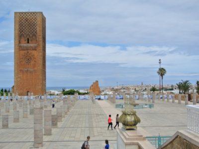 Morroco-Rabat-Hassan tower