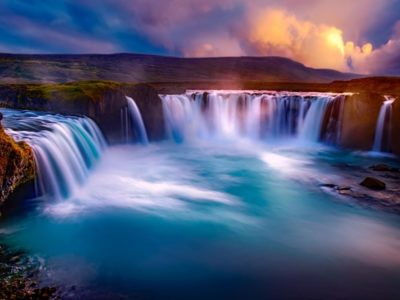 Iceland-Godafoss-Waterfalls