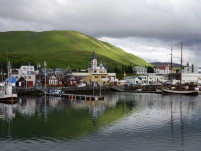 Iceland-Husavik-Port