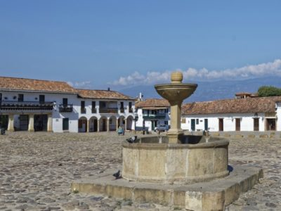 Colombia-Villa De Leyva-Plaza Mayor