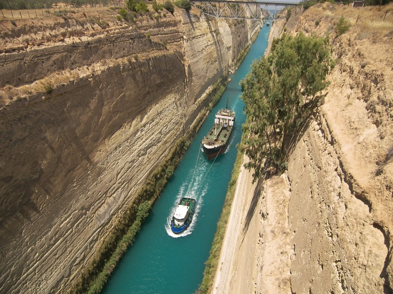 Greece-Corinth-Channel
