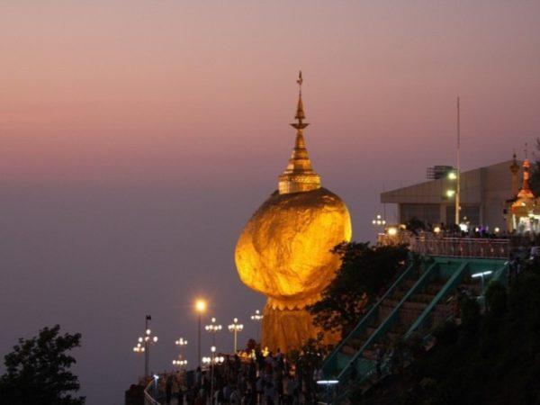 Myanmar-Golden Rock